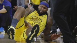 Warriors are concerned DeMarcus Cousins may have torn left quad