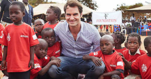 Roger Federer clarifies why he supports kids in Africa through his Foundation