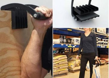 This gadget helps individuals to lift extremely heavy objects easily