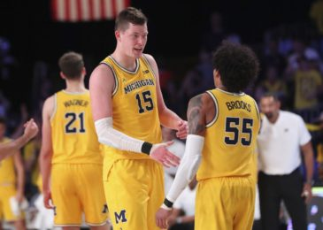 Where may Michigan basketball be ranked one week from now