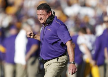 LSU affirms six-year, $42 million agreement expansion for Ed Orgeron