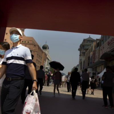 China's exports and imports have fallen due to the coronavirus crisis