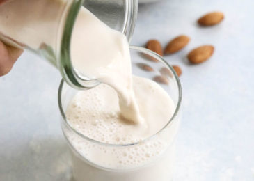 Here's the means by which you can make almond milk at home