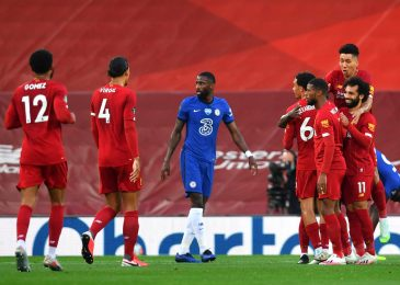 Reds to elevate Premier League trophy at Anfield as Blues battle for prime 4 spot