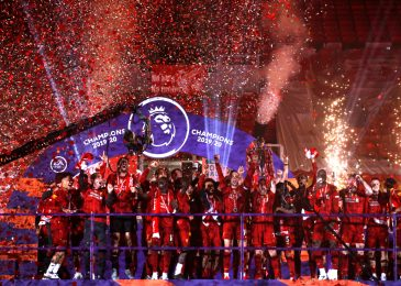 Reds have a good time Premier League glory with gorgeous firework show