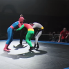 Watch highlights as 'Spider-Man' beats up 'Batman' and 'Robin' in beginner MMA battle throughout Hardest Man UK competitors