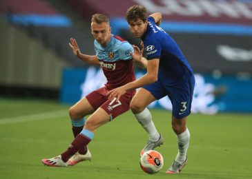 Chelsea boss Frank Lampard dubs Gary Neville's criticism of Marcos Alonso 'unfair' in West Ham defeat