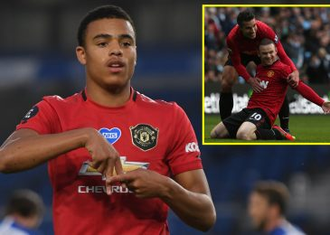 'Ruthless' ahead likened to Manchester United greats Rooney and Van Persie and can be 'higher than Rashford'