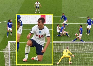 Heung-Min Son and Hugo Lloris conflict throughout Tottenham's win over Everton earlier than making up after half-time scrap