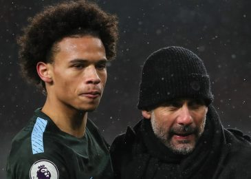 All the best!! Guardiola wishes Sane well