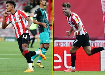 Brentford attain Championship play-off last as they beat Swansea in last ever sport at Griffin Park