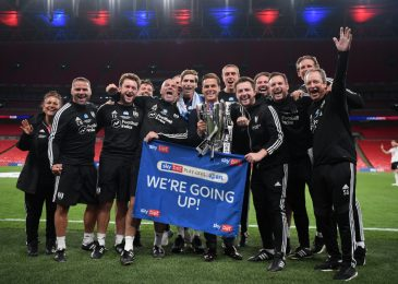 Scott Parker 'emotional' and 'proud' as Fulham seal instant return to Premier League with Championship play-off last win over Brentford