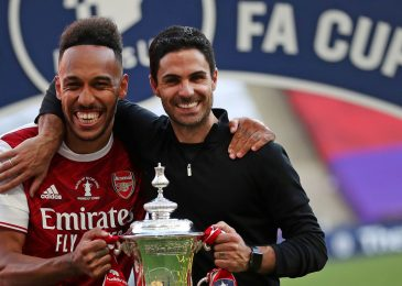 Pierre-Emerick Aubameyang to be provided new £250,000-a-week contract after FA Cup ultimate heroics
