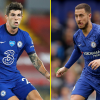 Christian Pulisic tipped to be 'higher than Eden Hazard' as ex-Chelsea stars say he is 'had a greater first season' for the Blues
