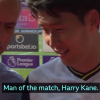 Jose Mourinho interrupts Heung-min Son's interview to inform him Harry Kane is Man of the Match after four-goal haul at Southampton
