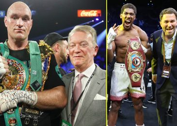 Sky Sports activities and BT Sport anticipated to share Anthony Joshua vs Tyson Fury in historic joint-PPV, claims Frank Warren