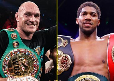 Eddie Hearn confirms Anthony Joshua vs Tyson Fury 'is 100% being introduced this week' after refusing to verify bout after Canelo stops Billy Joe Saunders