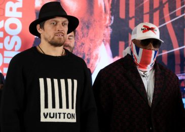 David Haye explains why undefeated Oleksandr Usyk will wrestle towards Derek Chisora as 'Battle' is backed to upset the chances