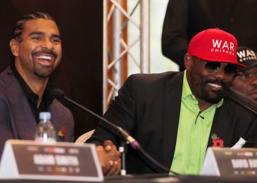 David Haye warns Oleksandr Usyk he's dealing with a 'totally fired up and motivated' Derek Chisora after gruelling year-long coaching camp