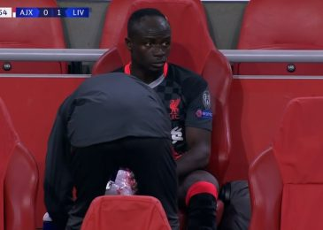 Jurgen Klopp cools Sadio Mane damage fears after Liverpool star pictured with ice on bench in Ajax win