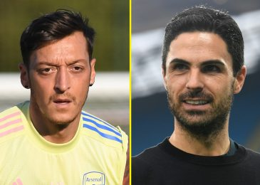 'I've failed' – Mikel Arteta accepts blame for Mesut Ozil state of affairs as Arsenal midfielder hits out at Premier League omission