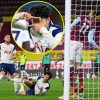 Harry Kane and Heung-min Son mix but once more for Tottenham at Burnley as Ashley Barnes escapes punishment after leaving Toby Alderweireld bloodied and bruised