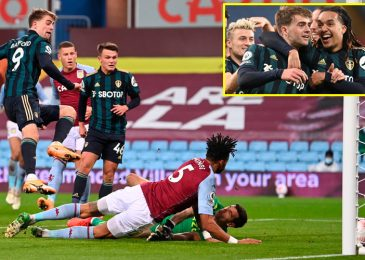 Patrick Bamford nets 19-minute hat-trick as Leeds inflict first Premier League defeat of season on Aston Villa