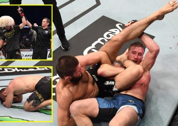 UFC 254 Outcome: Khabib Nurmagomedov breaks down in tears earlier than RETIRING after choking out Justin Gaethje on Battle Island
