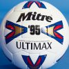 Iconic Mitre Ultimax soccer utilized by Premier League legends Owen, Shearer and Fowler returns for 25th anniversary celebration