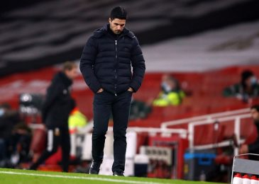 Mikel Arteta not apprehensive about being sacked as Arsenal make worst EVER begin to a Premier League season