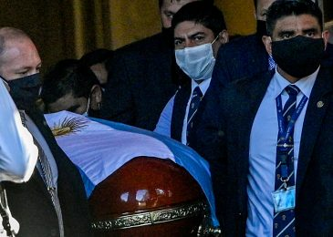 Funeral employee who took thumbs-up selfie with Diego Maradona's useless physique 'begs for forgiveness' after being sacked and despatched demise threats