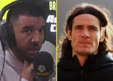 'Three-game ban isn't sufficient' for Edinson Cavani says Troy Deeney, with FA set to analyze Man Utd star's deleted 'racist' publish