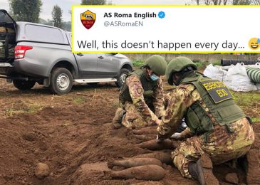 Roma name in bomb squad to coaching floor as unexploded Second World Struggle gadgets discovered