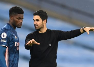 Thomas Partey set to overlook Arsenal's subsequent few fixtures with thigh damage, as Mikel Arteta admits he's 'actually involved' by latest stoop in type following Wolves defeat