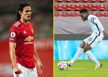 Champions League LIVE with Cavani handed first Man United begin, Chelsea seal knockout place, Arsenal urged to re-sign Wilshere, Grealish pleads responsible to careless driving