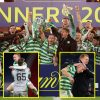 Celtic full quadruple treble with Scottish Cup win as Conor Hazard penalty shoot-out heroics assist them beat Hearts