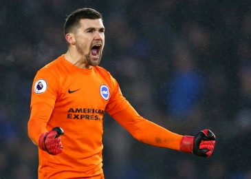 Arsenal finish back-up goalkeeper search by signing boyhood fan Mat Ryan on mortgage