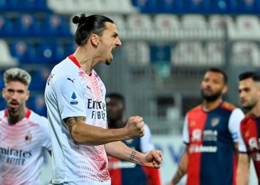 Zlatan Ibrahimovic achieves profession first aged 39 as he scores once more for AC Milan and reveals outrageous talent in opposition to Cagliari
