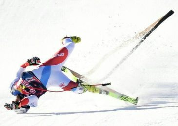 Urs Kryenbuhl airlifted to hospital after horrifying 87mph crash at males's downhill World Cup