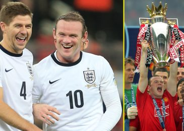 Wayne Rooney reveals talks with Steven Gerrard earlier than being made Derby boss as Manchester United picks enjoying profession highlights