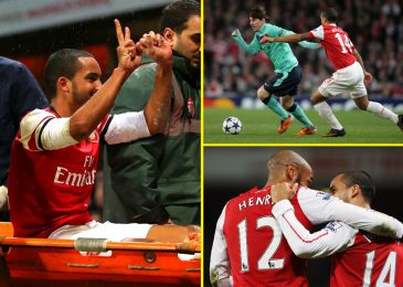 Lionel Messi requested for his shirt, Thierry Henry left a message and Tottenham followers threw £16.32 at him: Theo Walcott talks Arsenal