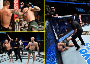 Conor McGregor KNOCKED OUT by Dustin Poirier at UFC 257 on Struggle Island in beautiful upset to finish speak of Khabib rematch