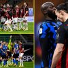 Romelu Lukaku rages 'f*** you and your spouse' to Zlatan Ibrahimovic as former Manchester United teammates conflict in dramatic Milan derby