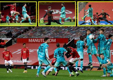 Bruno Fernandes nets gorgeous free-kick as Manchester United combat again from behind to defeat Liverpool in five-goal FA Cup thriller