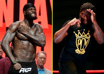 Deontay Wilder might face former Anthony Joshua opponent Charles Martin subsequent together with his hopes of Tyson Fury trilogy combat 'quickly fading'