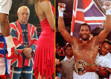 Kellie Maloney explains how well-known Union Jack swimsuit was a publicity stunt to take stress off of 'reserved' Lennox Lewis forward of huge fights like Evander Holyfield