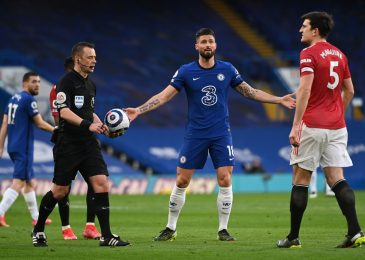 Chelsea vs Manchester United LIVE response: 'Referee informed Maguire it was a penalty' following Hudson-Odoi handball controversy in goalless draw
