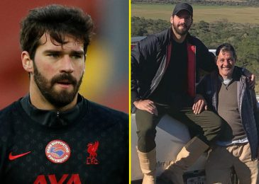 Liverpool goalkeeper Alisson sends message of thanks for assist after father, Jose Becker, is discovered useless in Brazil after tragic drowning accident