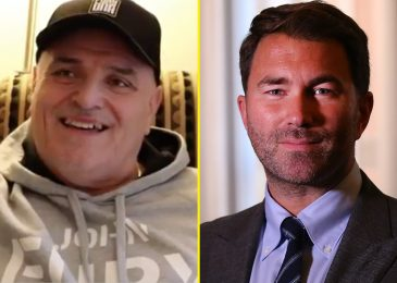 Tyson Fury's dad John threatens to SPANK Eddie Hearn over Anthony Joshua battle talks and promoter points hilarious response