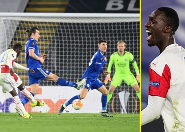 Leicester out of Europa League as Slavia Prague stun Premier League high-fliers by claiming 2-Zero win at King Energy